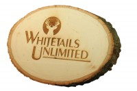 Engraved Plaque in Natural Basswood