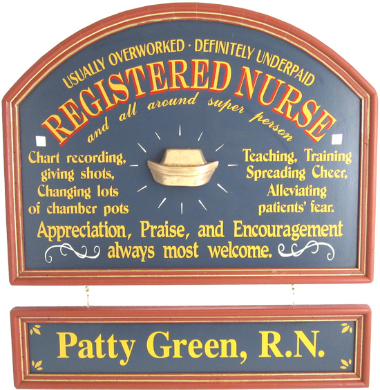 Nurse Gift Sign Personalized